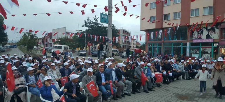 Devrekani'de 15 Temmuz Şehitlerini Anma Programı Düzenlendi