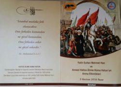 İstanbul'un fethinin 563. Yıl Dönemi Fetih Şöleni Programı belli oldu.