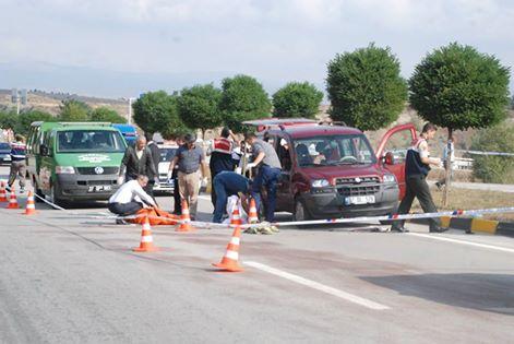 Devrekani Kavşağında Trafik Kazası