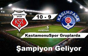 Kastamonu 1966 Spor Kasımpaşa Sporu yenerek gruplara kaldı.