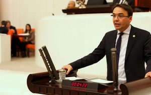 Baltacı Kastamonu'nun sağlık konusundaki taleplerini Meclise taşıdı.