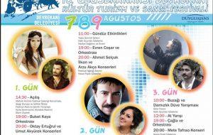 Devrekani Festival Programı belli oldu..
