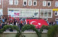 """Devrekani Ülkü Ocaklarından """"Şehite Saygı Teröre Lanet"""" Yürüyüşü"""