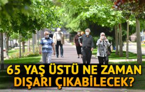 65 Yaş Üstü Vatandaşlar Bayramın 1.Günü Dışarı Çıkabilecekler.İşte Ayrıntılar !