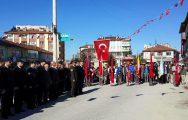 18 Mart Şehitleri Anma Günü ve Çanakkale Zaferi'nin 101. yıl dönümü ilçemizde törenlerle kutlandı.