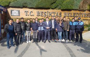 Beşiktaş Zabıta Müdürü Hemşerimiz Selçuk Bartınlı görevine iade edildi