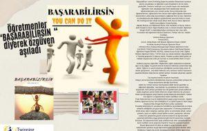 """Devrekani Halime Celal Budak İlkokulu, Raşide Öğretmenle """"BAŞABİLİRSİN"""" Projesinde Yerini Aldı.."""