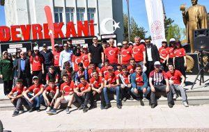 19 Mayıs Gençlik Haftası Etkinlikleri Kapsamında Bisiklet Turu Düzenlendi.