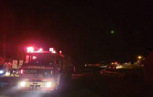 Bozkoca Köyü'nde Çıkan Yangın 1 Ahır ve 1 Samanlığı Yok Etti.