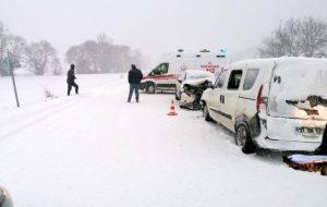 Devrekani'de Trafik Kazası. 9 Yaralı