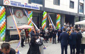 Devrekani Yerel Eylem Grubu Derneği Hizmet Binasının Açılışı Yapıldı.
