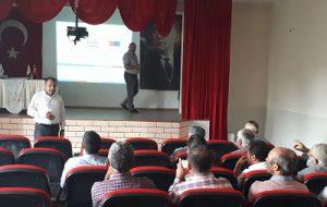TKDK İl Koordinatörlüğü Tarafından Hibe Desteği Toplantısı Yapıldı.