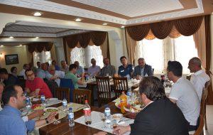 Başkan Altıkulaç,Kurum Amirleri ve Siyasi Parti Temsilcileri İle İstişare Toplantısı Yaptı.