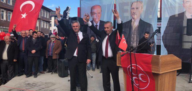 MHP, Devrekani Belediye Başkan Adayını Tanıttı.