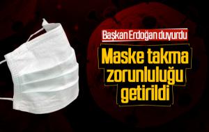 Kastamonu'da Dahil Olmak Üzere 10 İlde Maske Takmak Zorunlu Hale Getirildi.