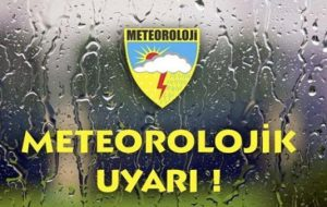 Meteoroloji Uyardı !!! Dolu ve Sel Baskını Bekleniyor.