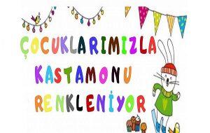 """Kas-Der Gençlik Kolları'ndan """"Çocuklarımızla Kastamonu Renkleniyor""""Projesi"""